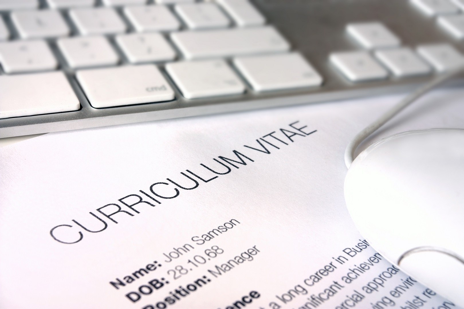 The Right CV Template For Your Job Application