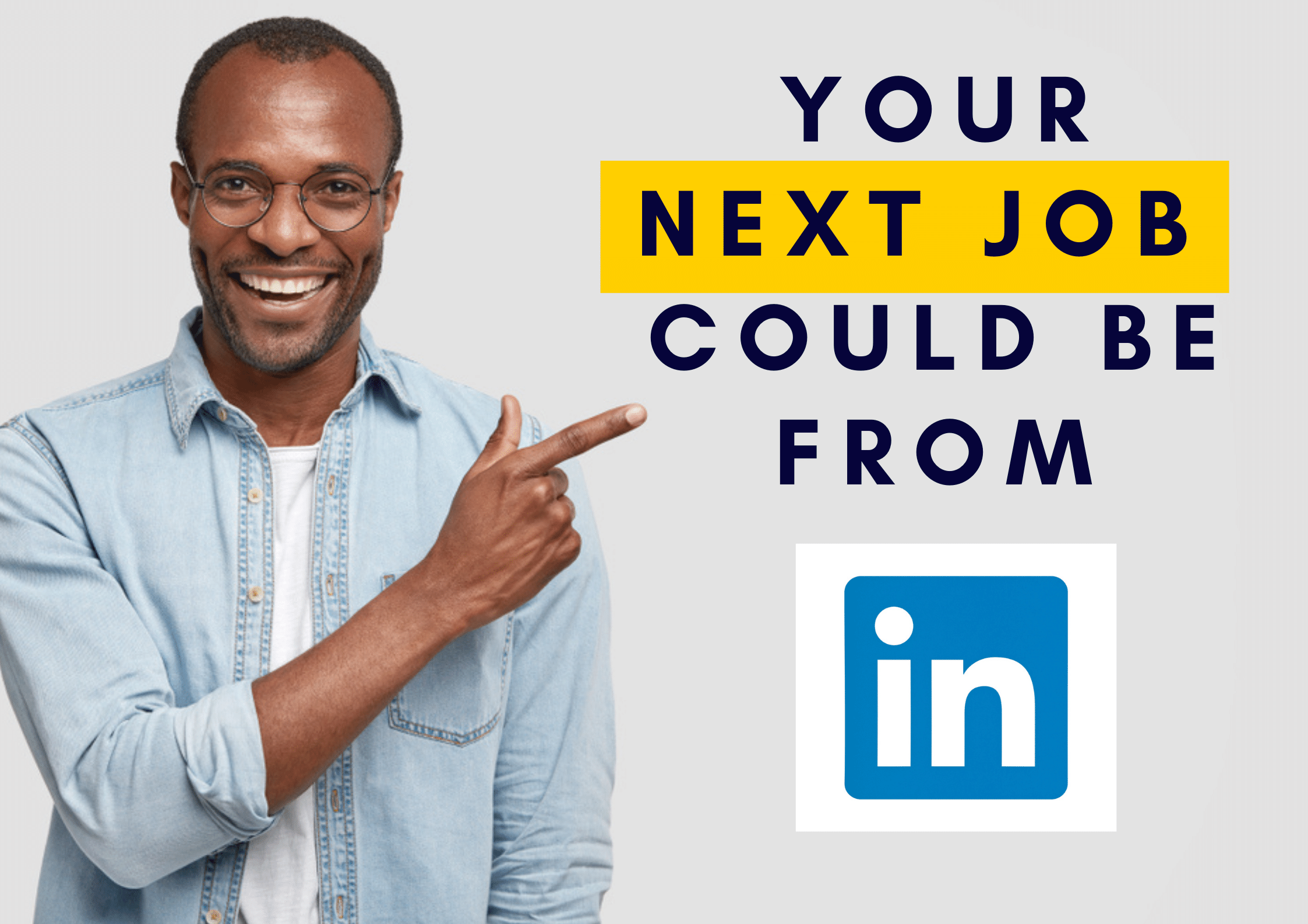 High Land a High Paying Job from Linkedin